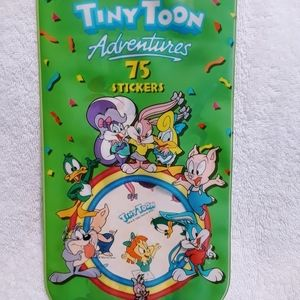 Vintage Looney tunes tiny toon stickers